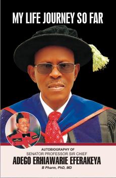 cover - Autobiography Senator Eferakeya