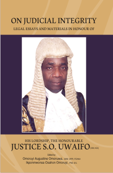 cover - on judicial integrity