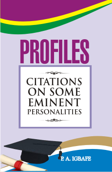 cover - profiles citations on some eminent personalities