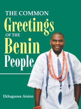 cover - common greetings of the benin people